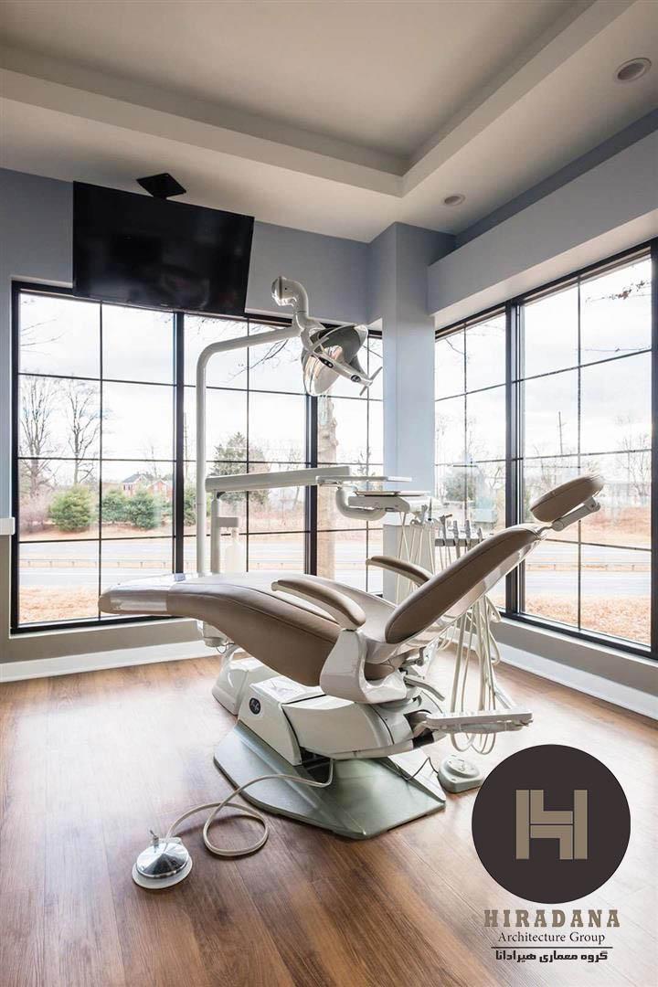 نورپردازی مطب دندانپزشکی