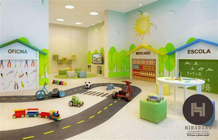 الگو های جدید برای طراحی مطب اطفال