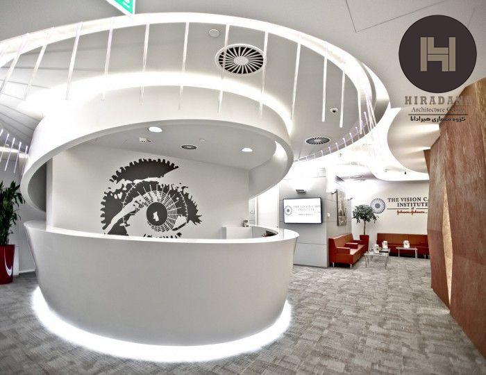 طراحی مطب چشم پزشکی