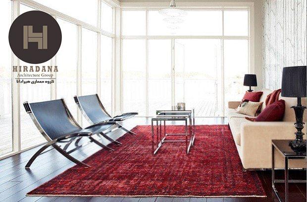 فرش ایرانی در دکوراسیون داخلی