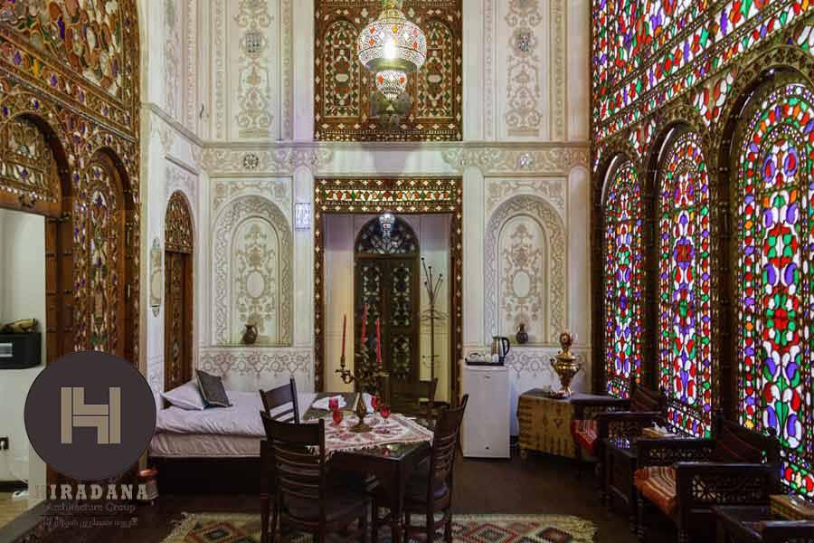 معماری داخلی بناهای ایرانی