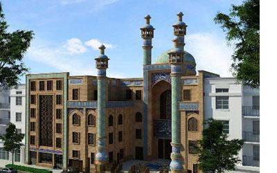بازسازی ساختمان مسجد