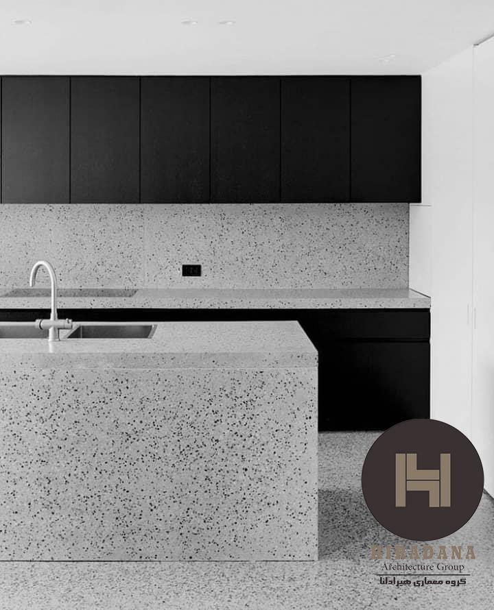 طراحی دکوراسیون آشپزخانه به سبک مینیمال