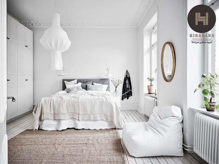ترکیب رنگ ها در دکوراسیون اتاق خواب