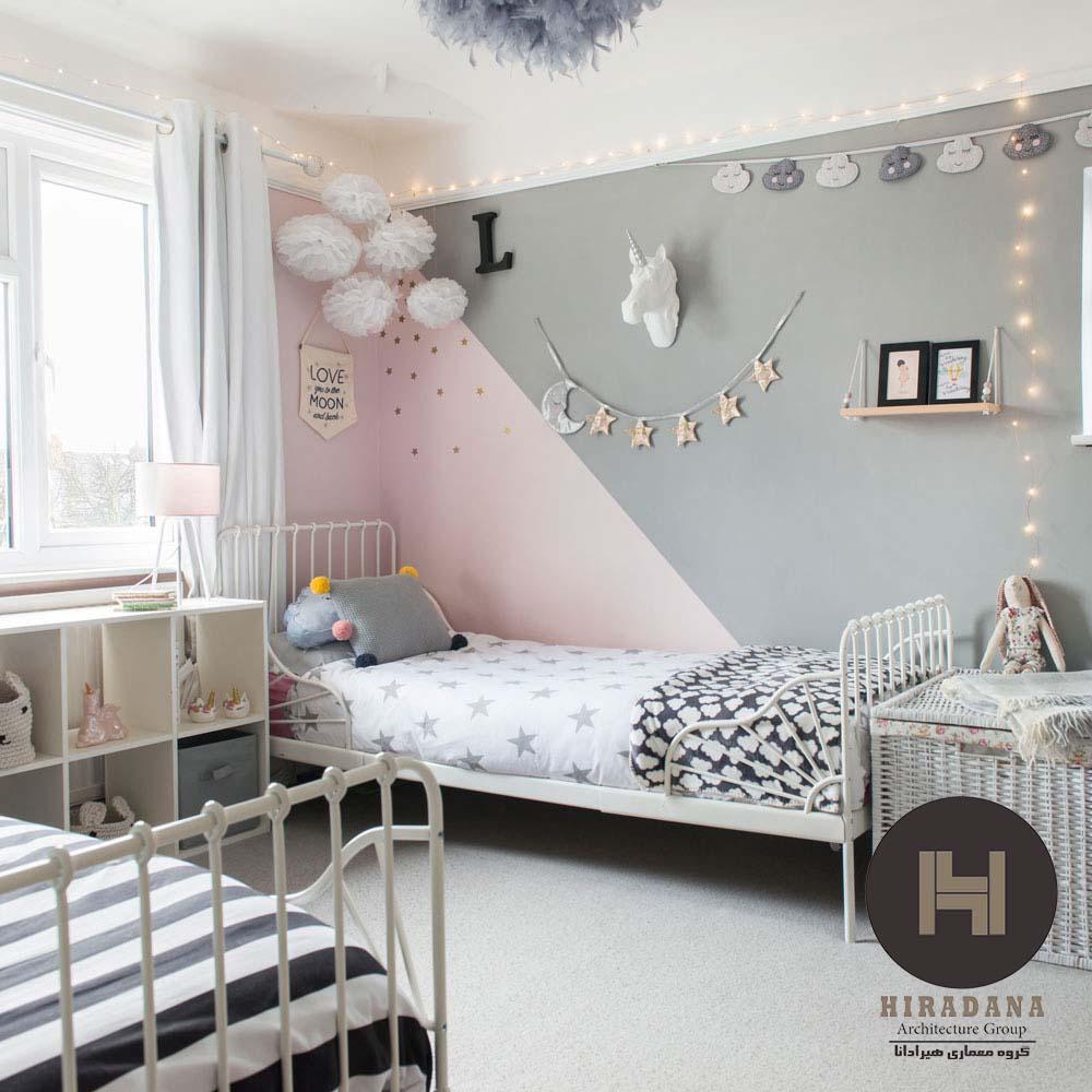 بازسازی اتاق خواب دخترانه