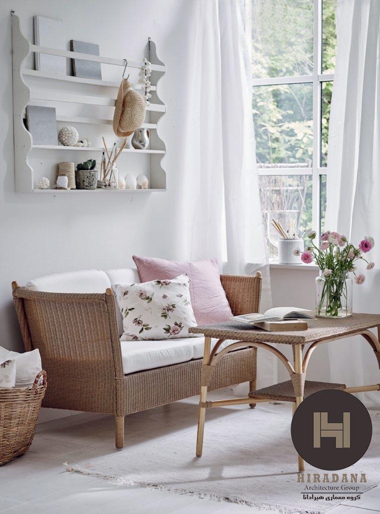 طراحی داخلی و استفاده از نور روز در خانه