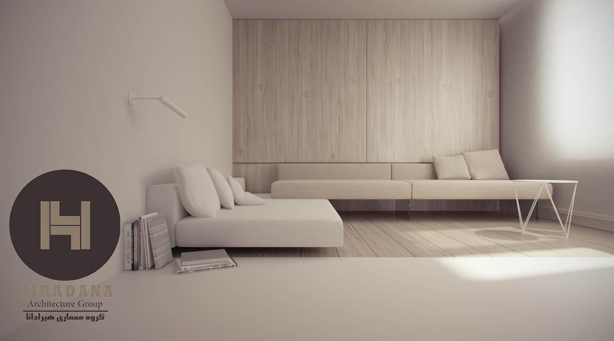 طراحی دکوراسیون داخلی با استفاده از رنگ کرم