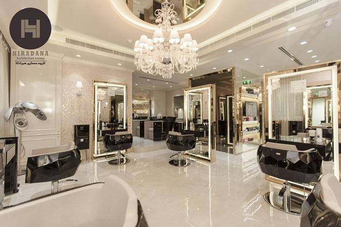 طراحی سالن زیبائی مردانه